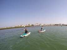 Paddle Boarding on Ria Formosa