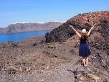 Palea Kameni Volcano